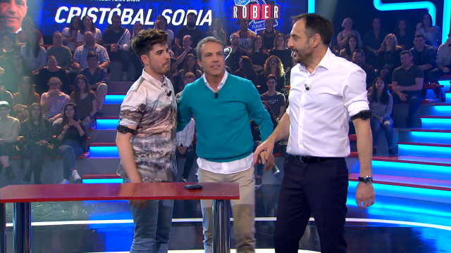 Con Roi Méndez e Cristóbal Soria - 09/05/2019 22:20