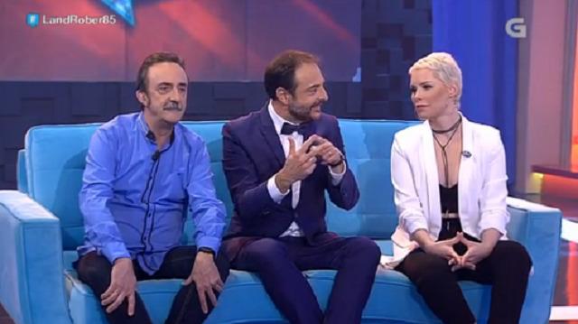 Con Soraya Arnelas e Santi Rodríguez - 20/04/2017 22:00
