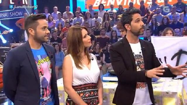 """Cos presentadores do """"Aquí Galicia"""" e A Banda da Balbina - 08/06/2017 22:15"""