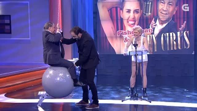 Dueto de Fisherman e Miley Cyrus: Wrecking ball - 20/05/2015 22:15