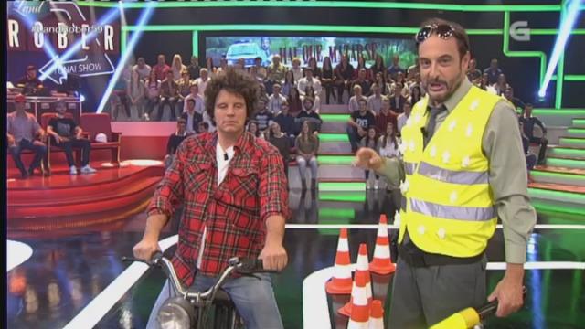 """En busca do borrachuzas máximus en """"Hai que mazarse"""" - 05/10/2016 22:46"""