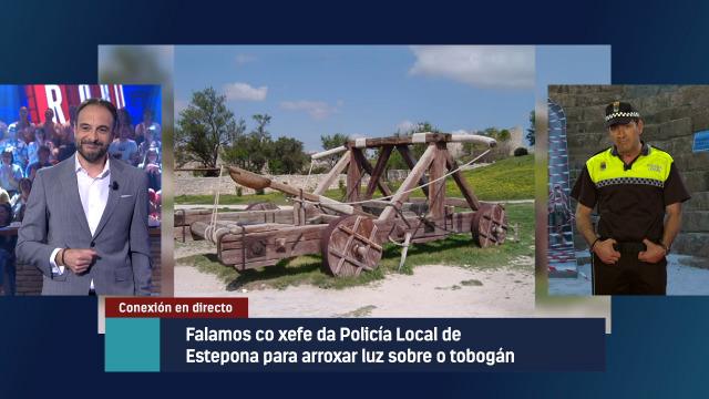 Falamos co xefe da Policía Local de Estepona sobre o ocorrido co tobogán - 16/05/2019 23:20