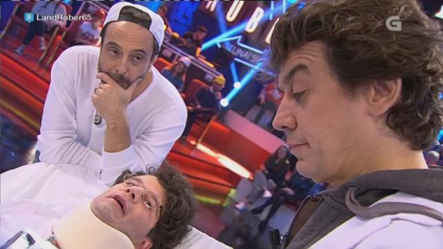 Frank Rober no Hospital con Marta Hazas e Javier Veiga - 16/11/2016 22:53