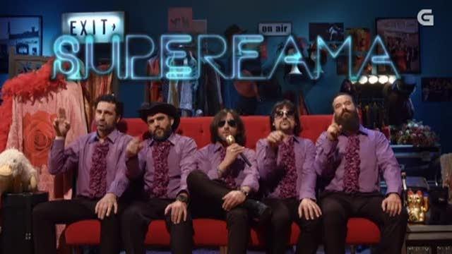 """Heredeiros da Crus estrea o seu videoclip """"Superfama"""" en Land Róber Tunai Show - 13/05/2015 22:15"""