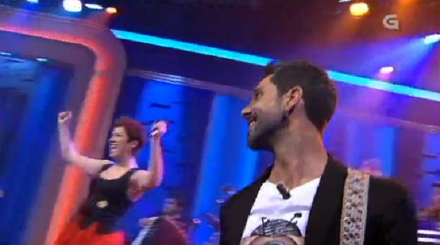 Juan Fuentes toca coa Banda da Balbina - 08/06/2017 22:15
