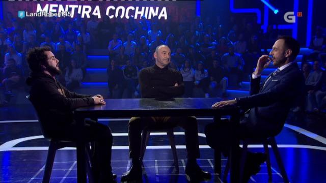 Manquiña, Perdomo e Roberto Vilar xogan ao 'Mentira cochina' - 11/01/2019 00:03