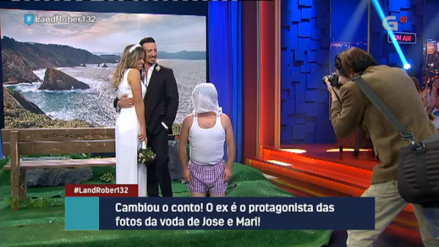 O fotógrafo non está contento coas fotos da voda de Jose e Mari e anda buscando substitutos - 11/10/2018 23:10