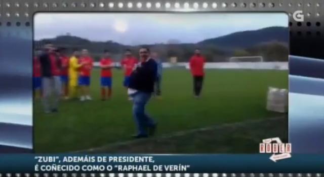 O Verín CF gaña un partido e o presidente canta por Rafael - 30/12/2015 22:00