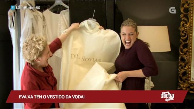 O vestido da voda de Eva vai ser... branco! - 09/03/2017 23:31
