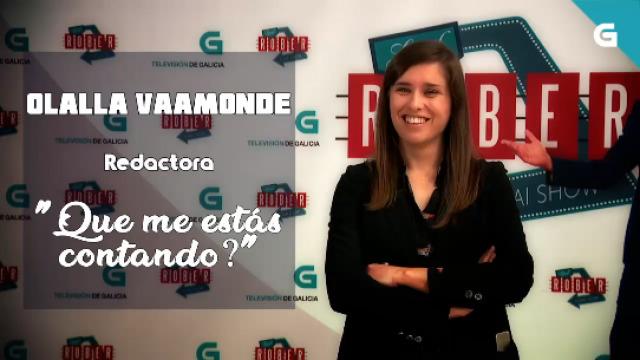 """Olalla Vaamonde, redactora. """"Que me estás contando?"""" - 27/06/2019 22:25"""