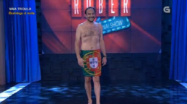 Os que nunca viron o 'show' de Roberto non esquecerán esta imaxe! - 29/06/2017 22:20