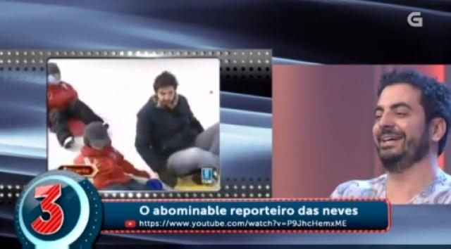 Os tres peores momentos de Quique Morales como reporteiro - 10/02/2016 22:00