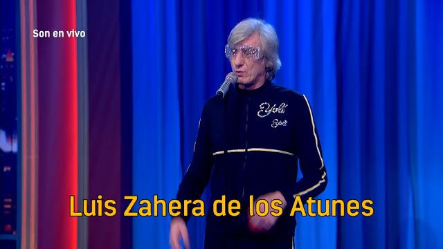 Que agasallazo! Toni Lomba e Elio dos Santos dedícanlle o tema 'Mala xente' a Luis Zahera! - 15/02/2019 00:35