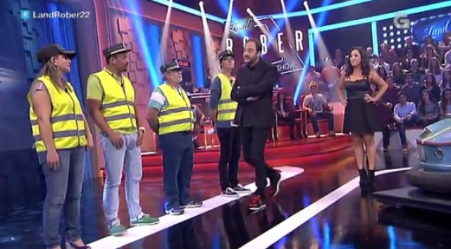 """""""Pintando a mona"""" con Lucía Regueiro e adiviñando quen é garda civil - 07/10/2015 22:00"""