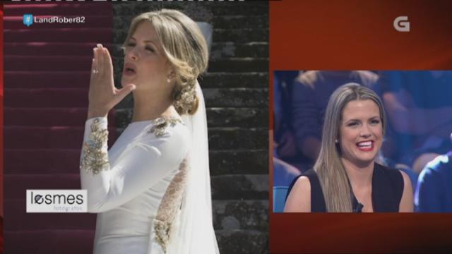 Repasamos os mellores momentos da voda de Eva Iglesias - 23/03/2017 23:50