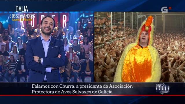 Rober conecta con Churra, da Asociación Protectora de Aves Salvaxes de Galicia - 10/05/2018 23:30