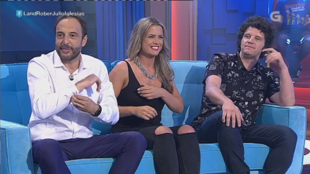Roberto, Eva e Touriñán no 'Que me estás contando?' - 23/06/2017 00:39
