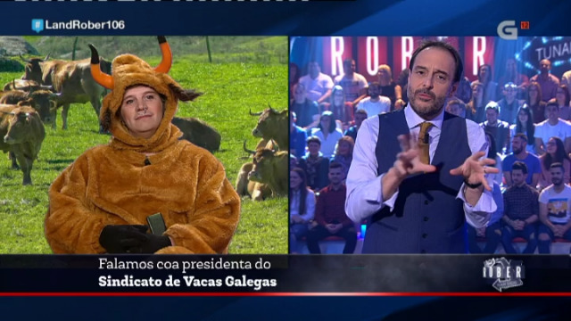 Roberto tivo que falar coa presidenta do Sindicato de Vacas Galegas polas declaracións da semana pasada - 30/11/2017 22:42