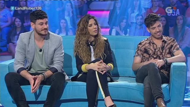 Roberto Vilar fala con Miriam, Roi e Cepeda dos seus proxectos - 25/05/2018 00:43