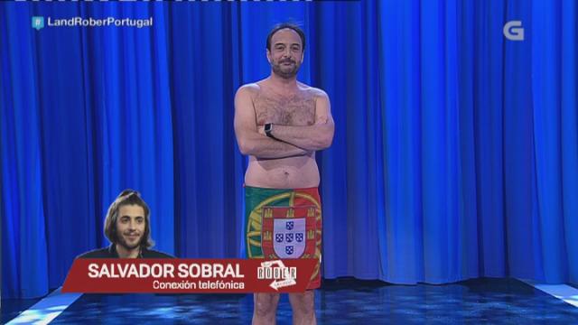 Roberto Vilar fala con Salvador Sobral, gañador de Eurovisión - 18/05/2017 22:29