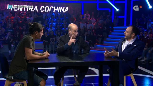 Roberto xoga ao 'Mentira cochina' con Julio Iglesias Jr. e Antonio Resines - 06/12/2018 23:59