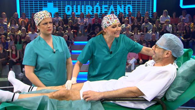 Será quen esta cirurxiá tremelicando así de realizar a operación de apendicite? - 22/03/2019 00:03