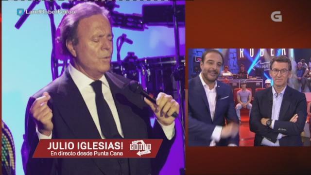 Sorpresa ao outro lado do teléfono: Julio Iglesias! - 29/09/2016 00:07