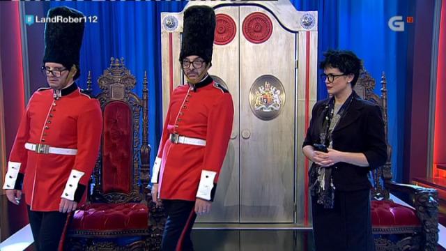 Tino e Nito só teñen que abrir a porta do palacio de Buckingham, pero... ata iso lles custa! - 26/01/2018 00:20