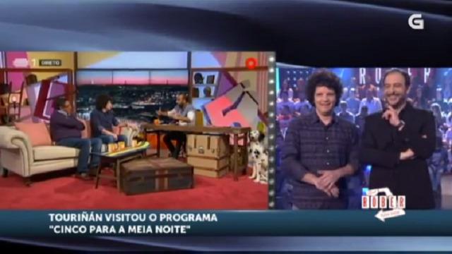 """Touriñán comenta a súa intervención no programa da RTP """"Cinco para a meia noite"""" - 06/04/2016 22:00"""