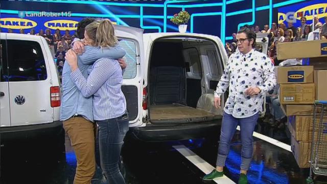 Vero foi ao Makea e alí topouse con Fran, o pobre Fran! Que cargou a furgoneta ata 3 veces! - 15/02/2018 22:57