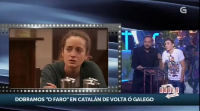 """Víctor e Roberto Vilar doblan ao galego unha escena de """"O Faro"""" - 09/12/2015 22:00"""