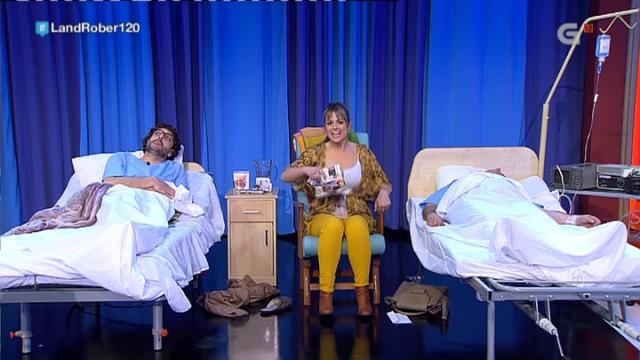 Virxinio aproveita a súa estancia no hospital para rascar cartos - 05/04/2018 23:03