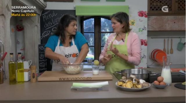 Aprendemos a preparar esta quiche de cogomelos e queixo San Simón - 23/01/2018 22:34
