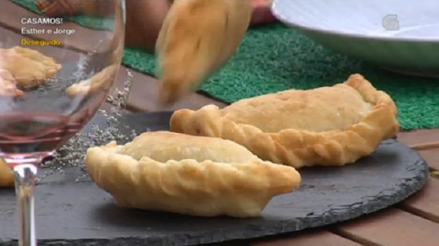 Bacallau ao forno e empanadillas de bacallau e arandos - 11/10/2016 22:00