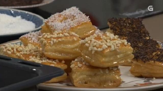 Bacallau con alcachofas e pasteliños de mel - 21/11/2017 22:00