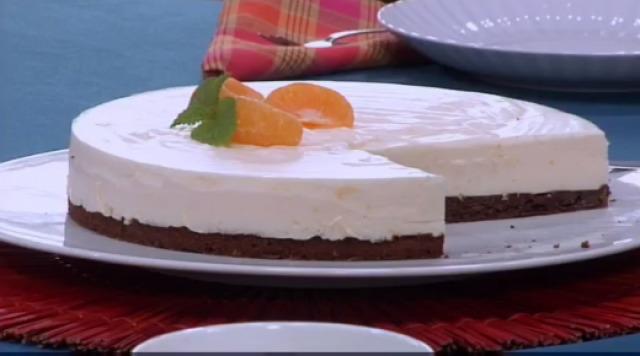 Bacallau con pudin de verduras e pastel de mandarina - 10/12/2015 22:00