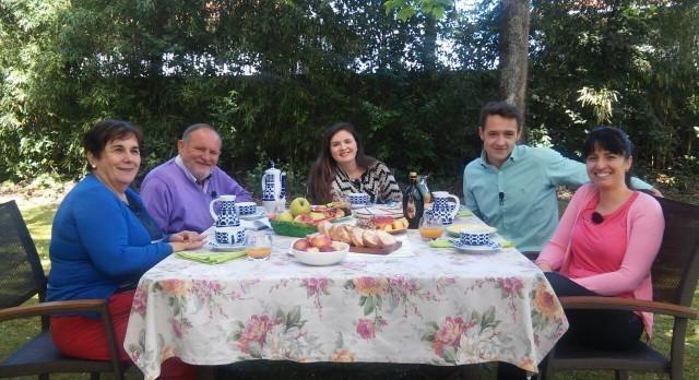 Chocos con fabas e arroz e pasteliños portugueses de crema - 02/05/2017 22:00