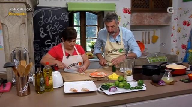 Con Pepe Solla, lombo de porco ao sal con gornición de froitas e biscoito de froitas - 12/09/2017 22:00