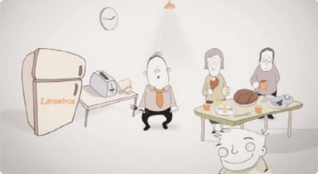 Empanada de luras e cunchas de peixe e lagostinos - 31/10/2012 22:15