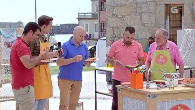 festeiros na Festa da Lagosta e da Cociña Mariñeira da Guarda - 10/07/2018 22:15