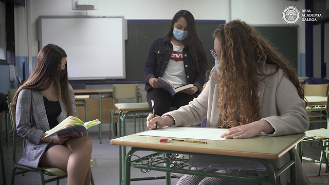 Alumnas do IES Castelao - 22/04/2021 09:45