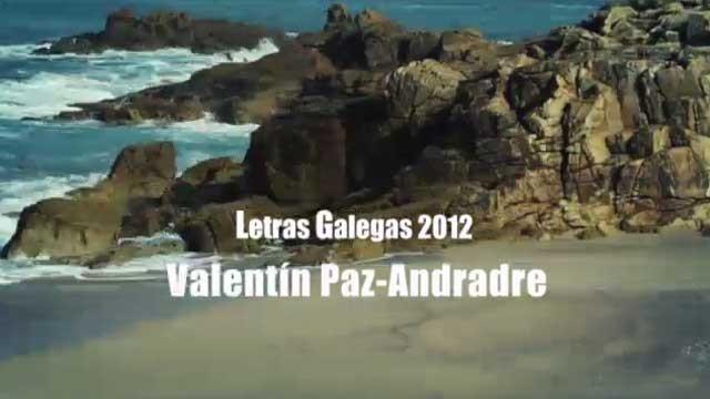 Pílulas poéticas de Paz-Andrade - 08/05/2012 15:00