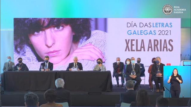 Pleno da Real Academia Galega co gallo do Día das Letras Galegas 2021 - 17/05/2021 13:00