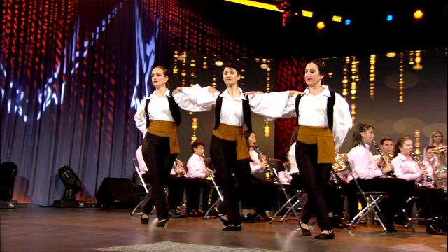 A Banda de Música de Chapela e a Compañía de Danza Porté interpretan xuntos 'Sirtaki' - 27/04/2019 00:34