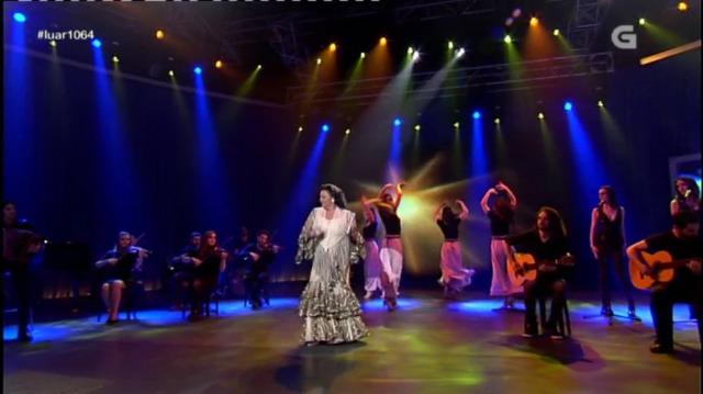 """A fermosa interpretación de María del Monte de """"Camariñas"""" - 13/01/2017 23:42"""