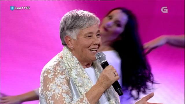 A recanteira das Terras da Coruña, Dolores Tasende, canta 'Marabilloso corazón' - 27/10/2018 01:46