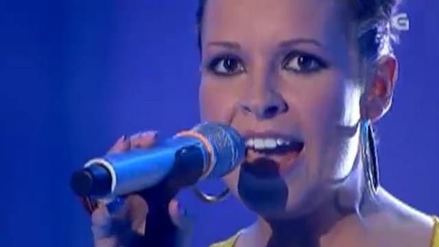 Actuación de Maret, a nova presentadora de Luar - 16/09/2011 00:05
