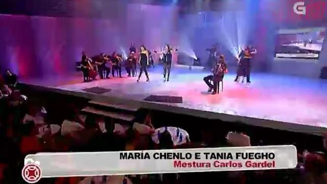 Actuación de María Chenlo e Tania Fuegho - 07/10/2011 00:08