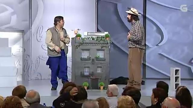 """Actuación de Pepe e Lauren """"O galiñeiro"""" - 04/11/2011 23:37"""