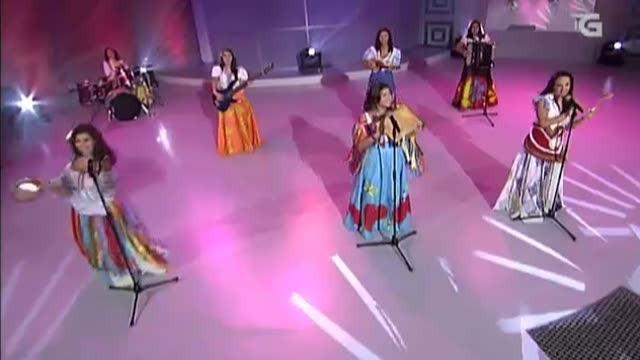 """Actuación do grupo portugués """"Sete saias"""" o Día das Letras Galegas - 17/05/2013 00:00"""